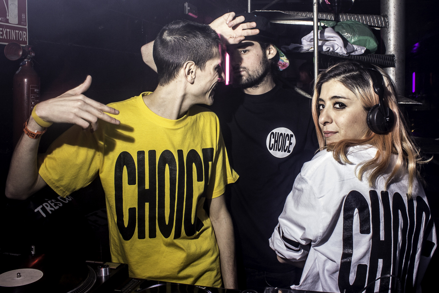 """Choice Party: The 303 Factory"" en Razzmatazz"