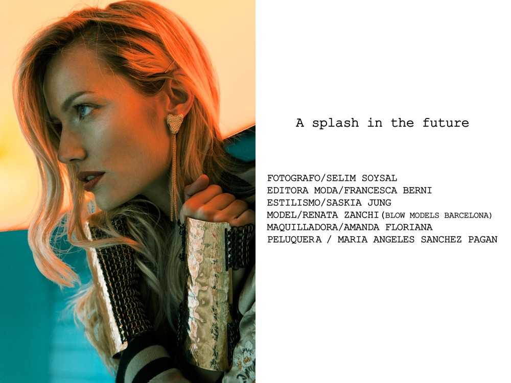 """EDITORIAL: """"A SPLASH IN THE FUTURE"""" by Selim Soysal"""