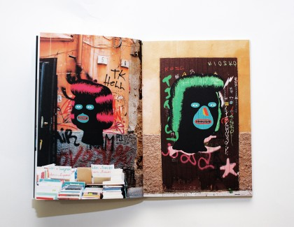 """Black Faces"" el libro del artista urbano Grip Face"